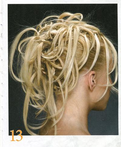 Прическа своими руками на средние волосы в
