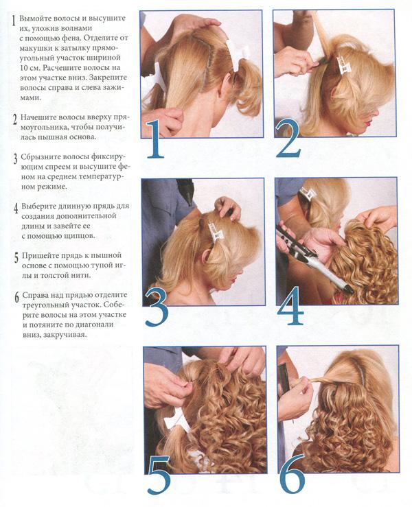 Укладка волос пошагово