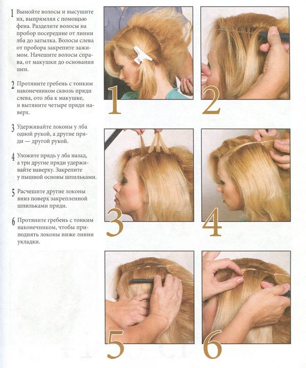 Корзиночка причёска с инструкцией поэтапно и